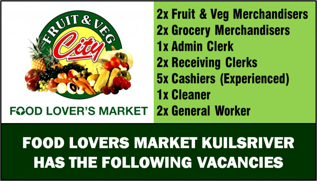 FOOD LOVERS MARKET KUILSRIVER