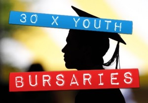 30 x YOUTH BURSARIES AVAILABLE