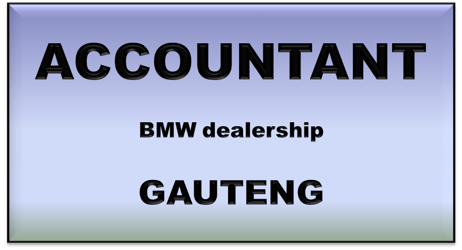 ACCOUNTANT BMW GAU