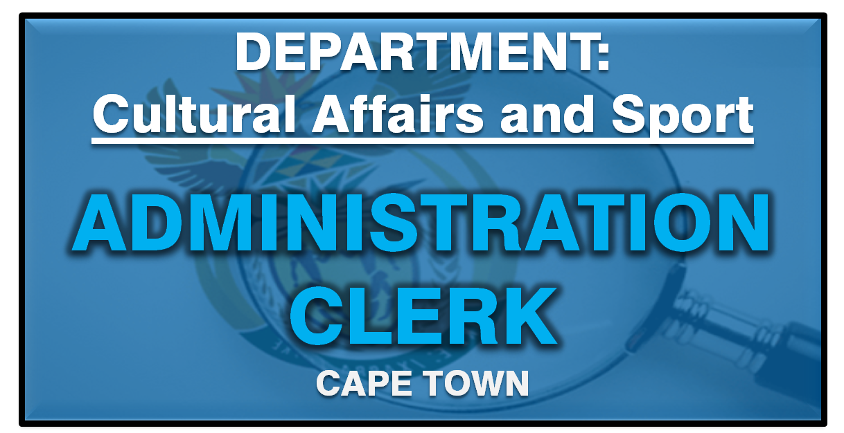 ADMINISTRATION CLERK CAPE TOWN