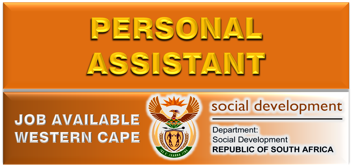 PERSONAL ASSISTANT SOCIAL DEVELOPMENT