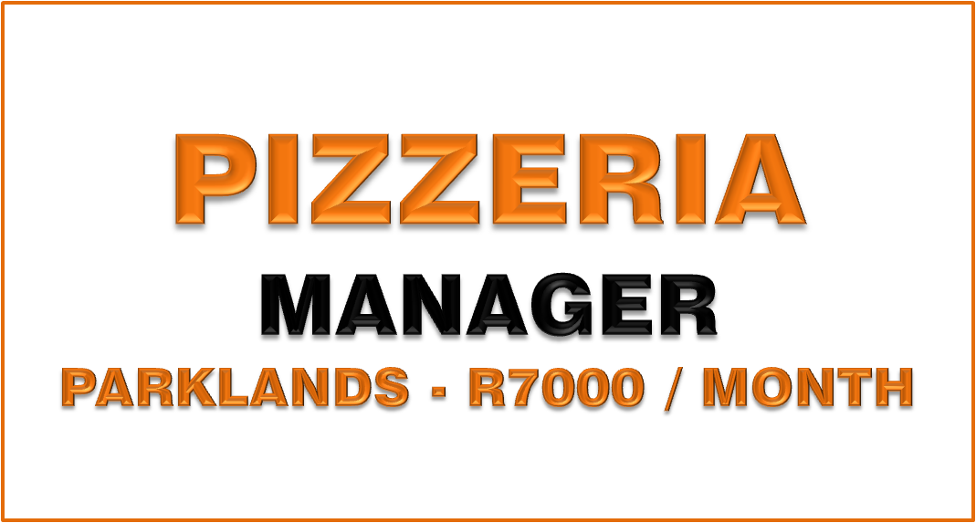 pizzeria manager