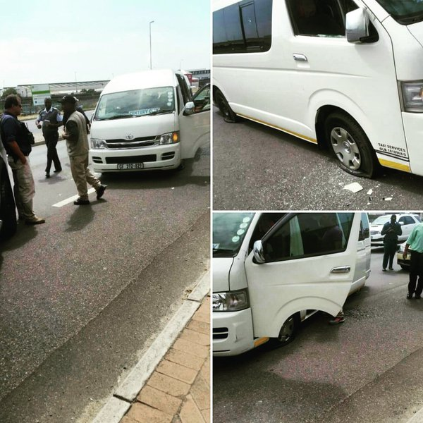 BOSMANSDAM TAXI ROBBERY