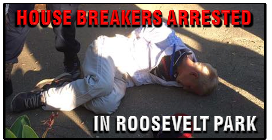 house breakers arrested