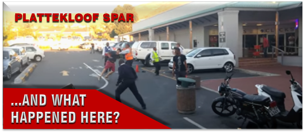 fight plattekloof spar