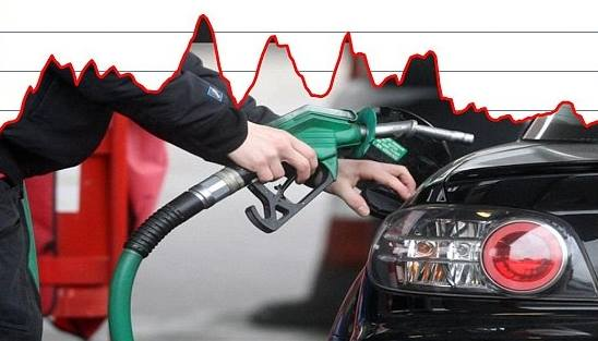 petrol prices march 2016