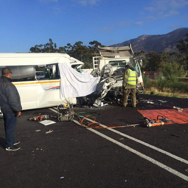 N1 WORCESTER CRASH UPDATES: FIVE TRUCKS, THREE COLLISIONS